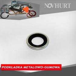 Podkładka metalowo-gumowa
