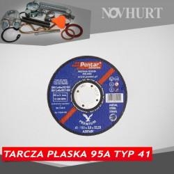 Tarcza do cięcia i szlifowania - SERIA INOX - Tarcza płaska 95A Typ 41