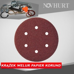 Krążek welur papier korund - 150