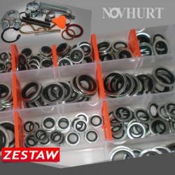 Zestaw podkładek Metalowo-Gumowych 220 el.