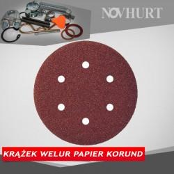 Krążek welur papier korund - 125