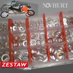 Zestaw Podkładek Aluminiowych 400 el.