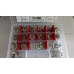 Zestaw Podkładek Aluminiowych 360el.