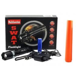 Latarka SWAT LED ZOOM